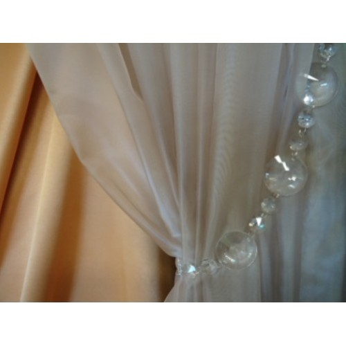 Curtain tieback curtains couture